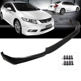 12 13 Honda Civic 4DR Sedan Modulo PU Front Body Bumper Lip Kit Spoiler Automotive