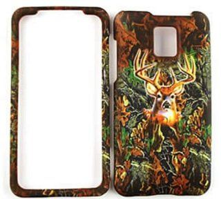 LG G2X Optimus P999 Camo / Camouflage Hunter Series, w/ Deer Hard Case/Cover/Faceplate/Snap On/Housing/Protector Cell Phones & Accessories