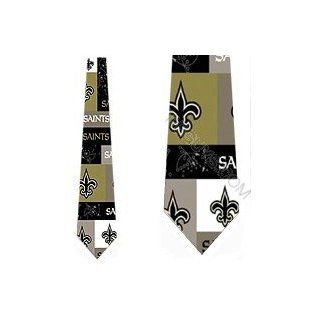 New Orleans Saints Ties Mens Neck Tie Block and Play at  Men�s Clothing store Neckties