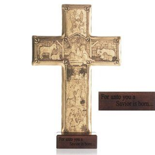 Handmade Christmas Cross by Wendell August Forge   Christmas Decor