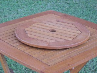 "Royal Tahiti Lazy Susan Dining Table Server Table Top Size 20""  Patio Dining Tables  Patio, Lawn & Garden"