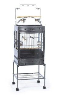 Super Pet EZ Care Bow Front Mini Playtop Cage for Small Birds with Mini Tool Box (fs)  Birdcages