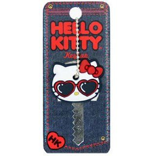 Sanrio Hello Kitty Heart Shape Sunglasses Key Cap [Apparel] [Eyewear] Clothing