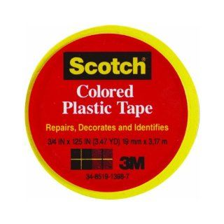 Scotch Colored Vinyl Plastic Tape (MMM190RD)