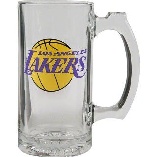 Los Angeles Lakers Logo Glass Tankard Sports & Outdoors