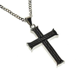 "Christian Mens Stainless Steel Abstinence ""Put on the Full Armor of God, That You Will Be Able to Stand Firm Against the Schemes of the Devil. For We Wrestle Not Against Flesh and Blood but Against Principalities, Powers, the Rulers of the Darkness of"