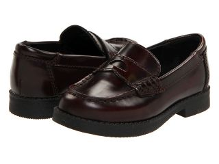 Kenneth Cole Reaction Kids Loaf er 2 Boys Shoes (Burgundy)