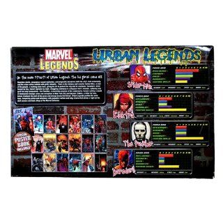 Toy Biz Marvel Legends   Urban Legends Gift Box Set With Poster Book Toys & Games