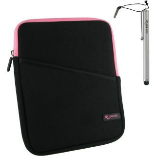 rooCASE 3 in 1 Kit   Super Bubble Neoprene Sleeve Case for iPad 2