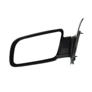 1988 2005 Chevy/Chevrolet Astro, GMC Safari Van Manual Gloss Black Below Eyeline Type Rear View Mirror Left Driver Side (1988 88 1989 89 1990 90 1991 91 1992 92 1993 93 1994 94 1995 95 1996 96 1997 97 1998 98 1999 99 2000 00 2001 01 2002 02 2003 03 2004 04