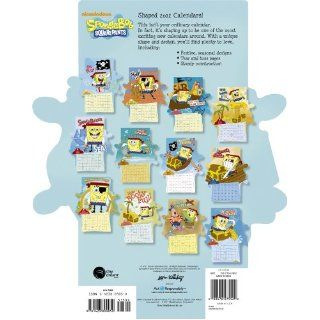 2012 SpongeBob SquarePants Die Cut Calendar Day Dream 9781423809050 Books