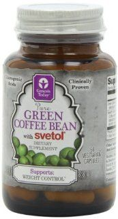 Genesis Today Green Coffee Bean with Svetol, 800 mg per Capsule, 60 Capsules per Bottle (Contains 200 mg of Svetol Green Coffee and 600 mg of regular Green Coffee per Capsule) Health & Personal Care