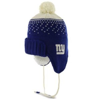 47 Brand New York Giants Womens Magic Mountain Knit Hat   Royal Blue
