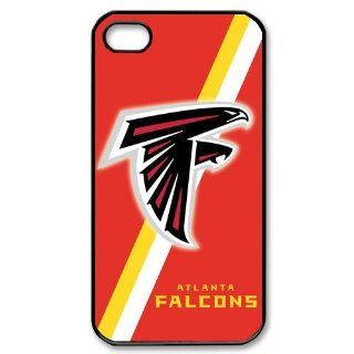 NFL Atlanta Falcons Red Homophony iPhone 4 4S Here Comes Amazing hard Cover Case Cell Phones & Accessories