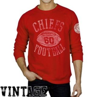 Junk Food Kansas City Chiefs Field Goal Fleece Sweatshirt   Red