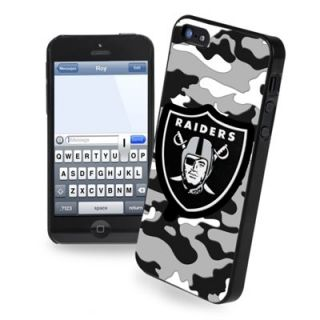 Oakland Raiders Camouflage iPhone 5 Hard Case