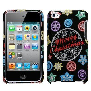 Hard Plastic Snap on Cover Fits Apple iPod Touch 4 (4th Generation) Xmas Light (Sparkle) (does NOT fit iPod Touch 1st, 2nd, 3rd or 5th generations) Cell Phones & Accessories