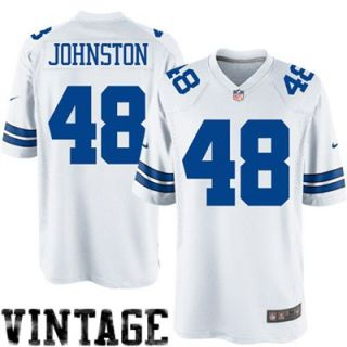 Nike Daryl Johnston Dallas Cowboys Legends Replica Jersey   White