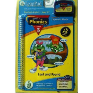 LeapPad Phonics Program, Lesson 5   Consonant Blends (Interactive Book and Cartridge Included) Inc. LeapFrog Enterprises 9781586057428 Books