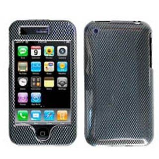 Hard Plastic Snap on Cover Fits Apple iPhone 3G 3GS Carbon Fiber AT&T (does NOT fit Apple iPhone or iPhone 4/4S or iPhone 5/5S/5C) Cell Phones & Accessories