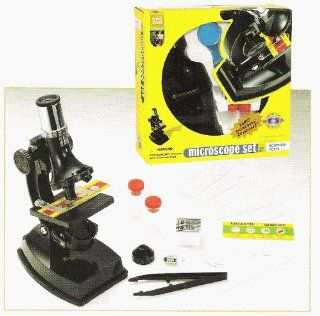 Edu Science Microscope Set 100x, 450x, 750x Toys & Games