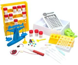 Edu Science Chemlab/1100 Teacher Designed Chemistry Set (1100 Experiments and Procedures) Toys & Games