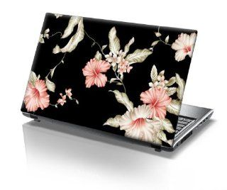 TaylorHe 15.6 inch 15 inch Laptop Skin Vinyl Decal with Colorful Patterns and Leather Effect Laminate MADE IN BRITAIN Vintage Floral Patterns Computers & Accessories