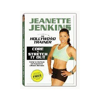 Jeannete Jenkins / The Hollywood Trainer Core & Stretch It Out DVD Movies & TV