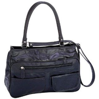 Best Quality 2 Compartment Lambskin Purse By Embassy&trade Italian Stone&trade Design Genuine Lambskin Leather Purse