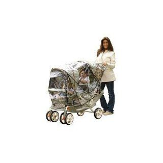 Especially for Baby Tandem Stroller Rain Cover  Baby Stroller Weather Hoods  Baby