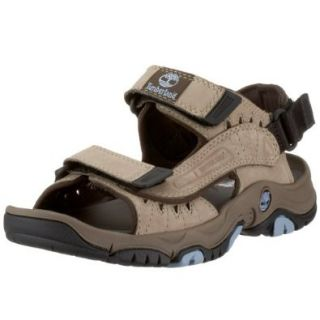 Timberland Women's Moultonborough Sandal,Light Brown,5 M Shoes