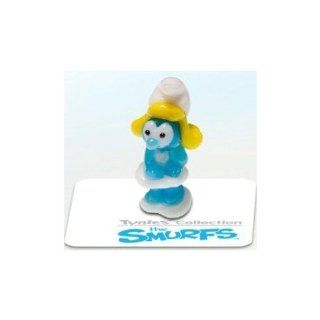 Tynies The Smurfs Smurfs   Smurfette Glass Figure Toys & Games