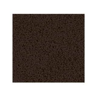 5x5 Ft Square Dark Brown Shag Rug  Area Rugs