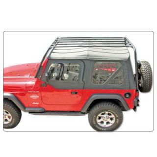 1997 2006 Jeep Wrangler (TJ) Roof Rack   Olympic 4X4 Products, Direct fit, 38 x 70 in., Black