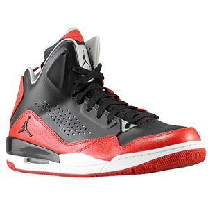 Jordan SC 3   Mens   Basketball   Shoes   Black/Black/Gym Red/Wolf Grey