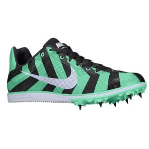 Nike Zoom Rival D 8   Womens   Track & Field   Shoes   Green Glow/Dark Charcoal/White
