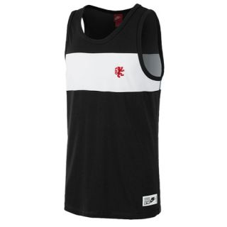 Nike LeBron BB Crossover Tank   Mens   Basketball   Clothing   Black/White/University Red