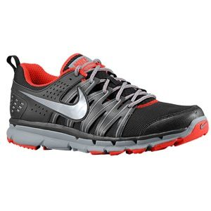 Nike Flex Trail 2   Mens   Running   Shoes   Black/Cool Grey/Challenge Red/Metallic Cool Grey