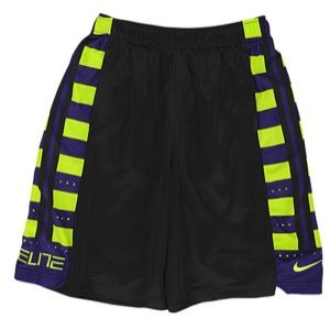Nike Elite Fanatical Shorts   Boys Grade School   Basketball   Clothing   Black/Volt