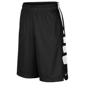 Nike Elite Stripe Shorts   Boys Grade School   Basketball   Clothing   Black/White
