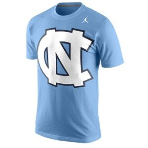 Nike College Tri Blend T Shirt   Mens   Basketball   Clothing   North Carolina Tar Heels   Light Blue Heather
