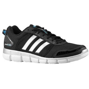 adidas ClimaCool Aerate 3   Mens   Running   Shoes   Black/Metallic Silver/Solar Blue