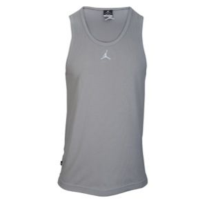 Jordan Buzzer Beater Tank   Mens   Basketball   Clothing   Matte Silver/White