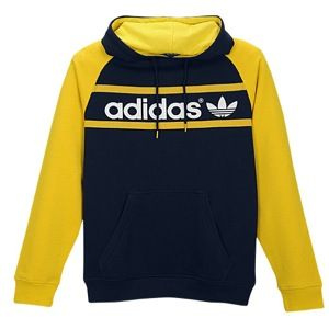 adidas Originals Heritage Logo Pullover Hoodie   Mens   Casual   Clothing   Legend Ink