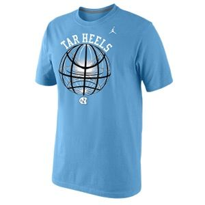 Nike Fusion Power Glow Ball T Shirt   Mens   Basketball   Clothing   North Carolina Tar Heels   Valor Blue