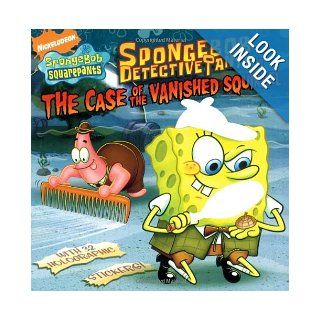 SpongeBob DetectivePants in the Case of the Vanished Squirrel (Nick Spongebob Squarepants (Simon Spotlight)) David Lewman, Harry Moore 9781416949398 Books