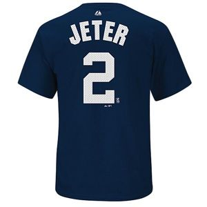 Majestic MLB Hi Definition Name & Number Tee   Mens   Baseball   Clothing   New York Yankees   Navy
