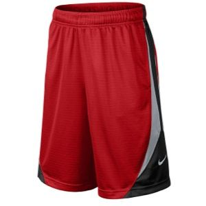 Nike Avalanche Shorts   Boys Grade School   Basketball   Clothing   Gym Red/Wolf Grey/Black