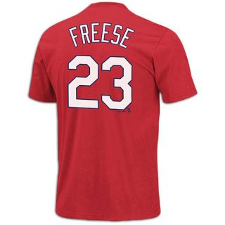 Majestic MLB Name and Number T Shirt   Mens   Baseball   Clothing   Los Angeles Angels   Red