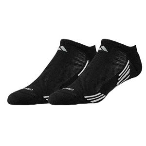 adidas Climacool X II 2 Pack No Show Socks   Mens   Running   Accessories   Black/Tech Grey/Aluminum